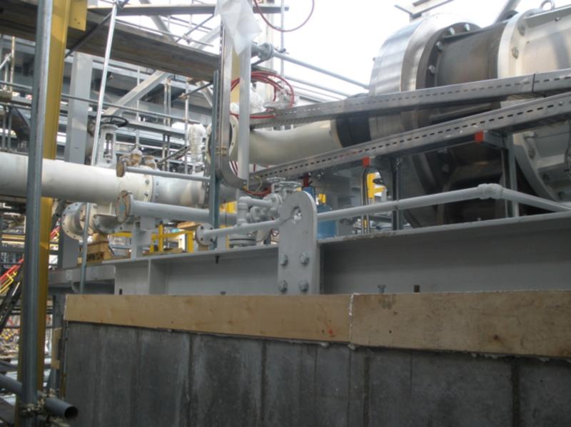 : Aislamiento térmico y acústico en área ATEX del Compressor VRU en refinería de KHABAROVSK