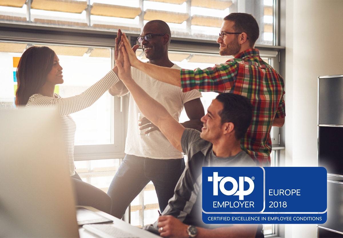ISOVER Saint-Gobain Top Employer 2018