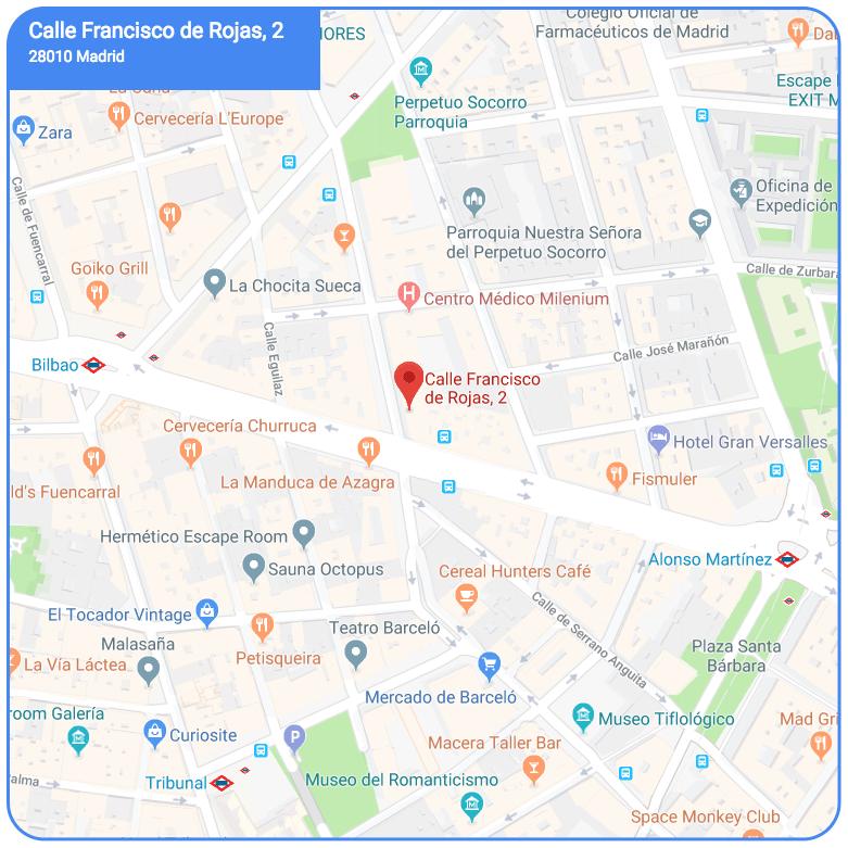 Plano localización Casa Decor 2018